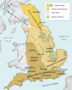 Regan- Danelaw 9th century