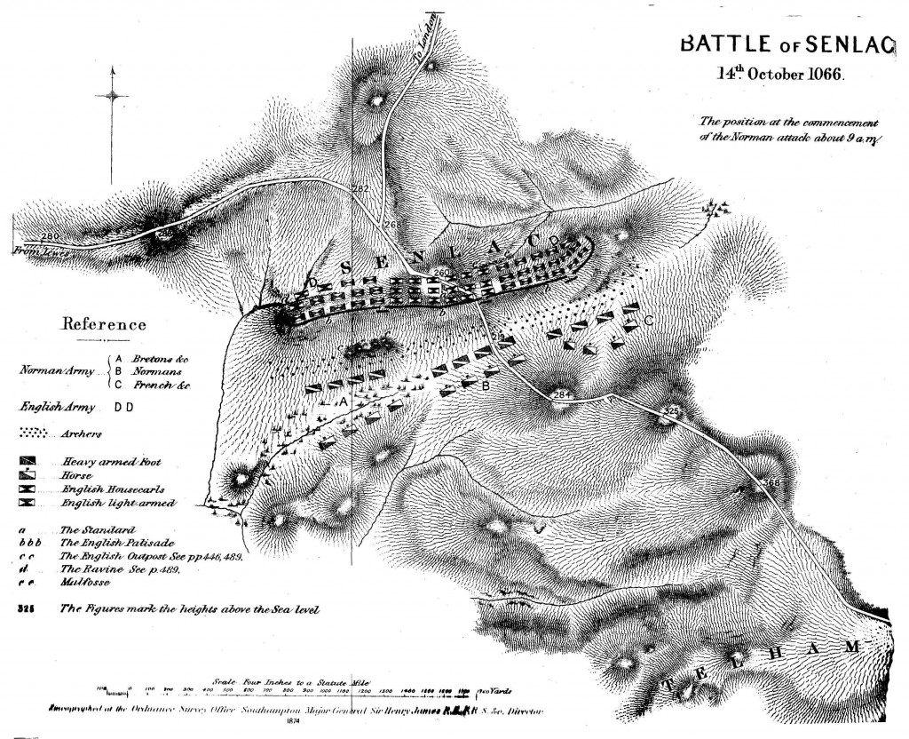 Battle of Senlac from History of the Norman Conquest
