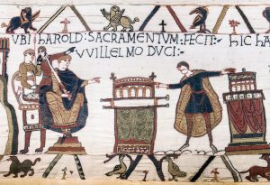 Harold Swears an Oath to William. Source: Wikimedia