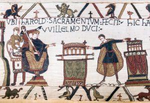 Harold Swears an Oath to William. Source: Wikimedia