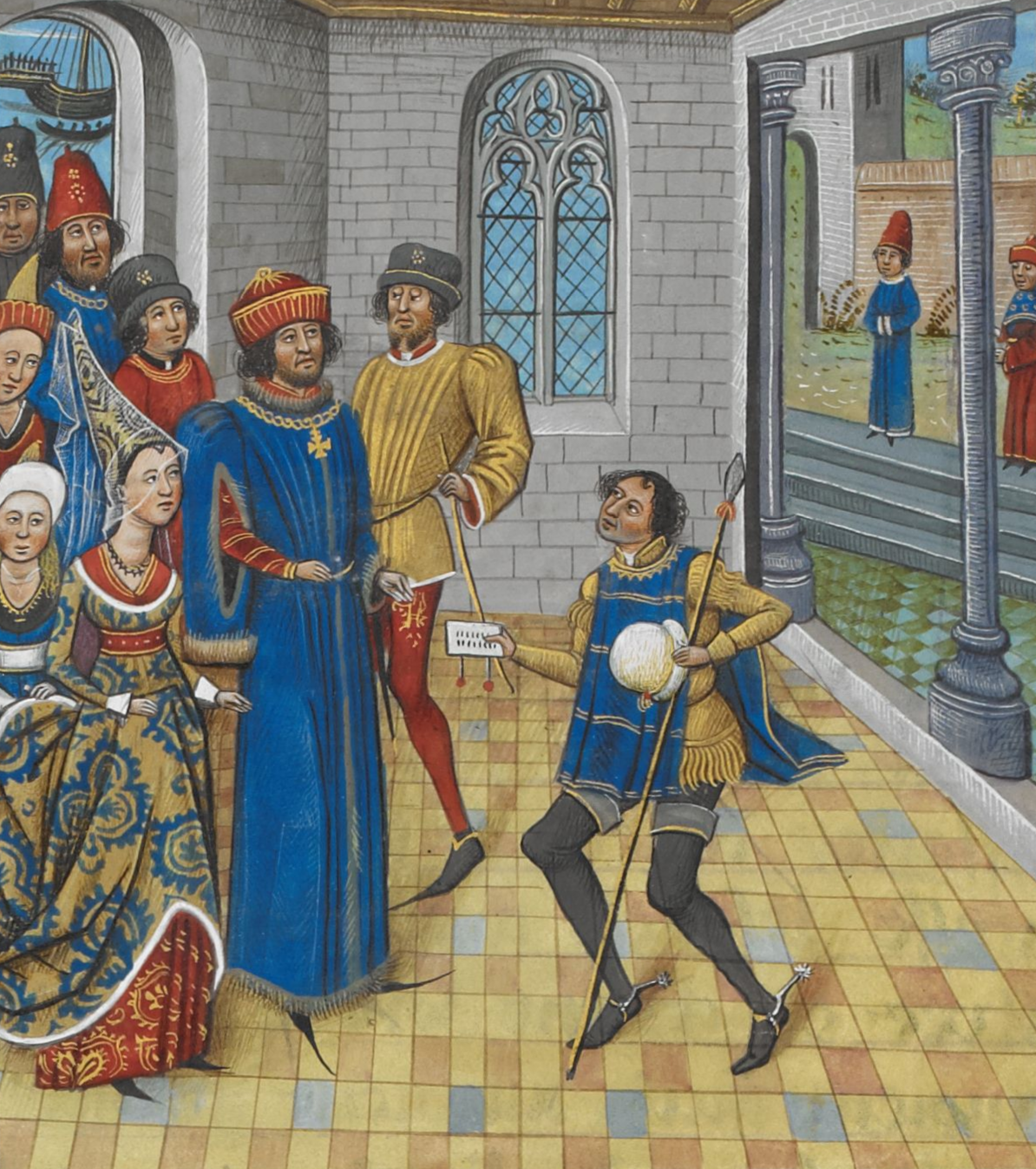 Richard II and John of Gaunt «...